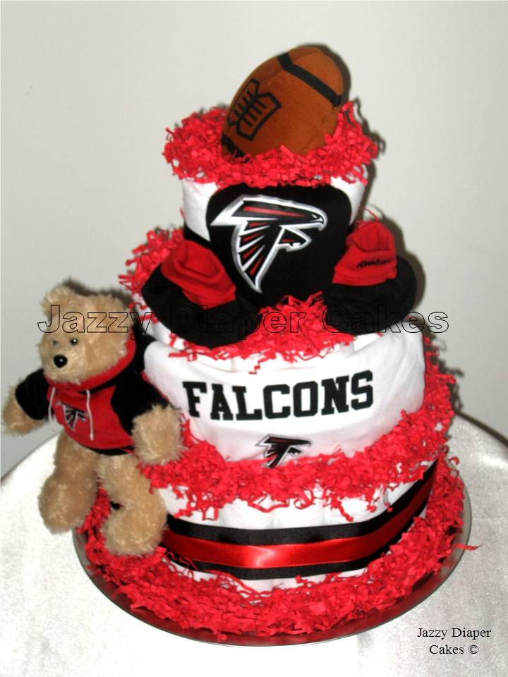 Falcons Cake Picture in Cake Decor