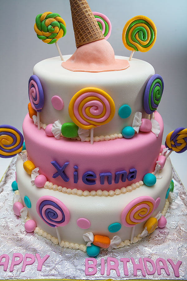 Fondant Cakes In Nyc Picture in Birthday Cake