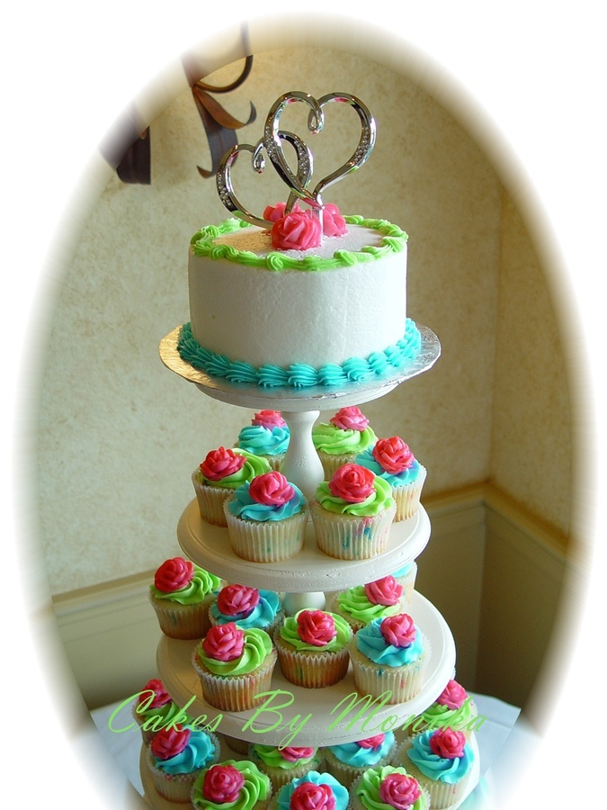 Funfetti Wedding Cake Picture in Wedding Cake