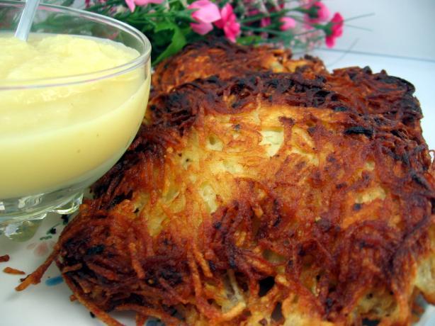 German Potato Pancake Recipe Picture in pancakes