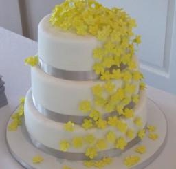 453x604px Gray Fondant Picture in Cake Decor