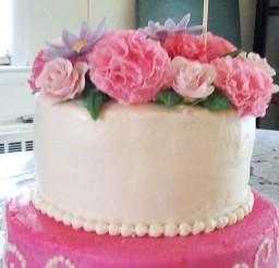 504x900px Gum Paste Carnations Picture in Cake Decor