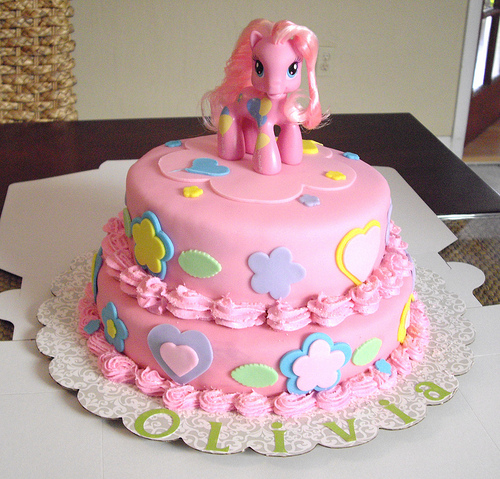 How To Make A My Little Pony Cake Picture in Cake Decor