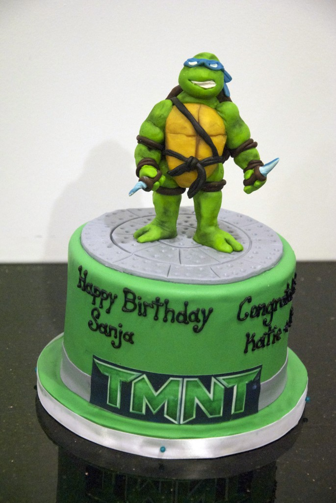 How To Make A Ninja Turtle Cake Picture in Cake Decor