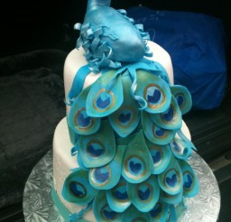 720x960px How To Make A Peacock Cake Picture in Cake Decor
