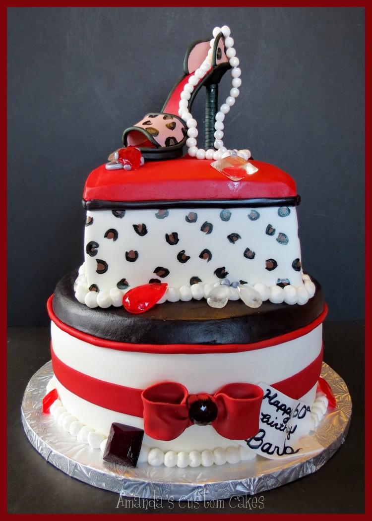 Isomalt Gems Picture in Cake Decor