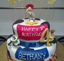 675x900px Jessie Birthday Cake Picture in Cake Decor