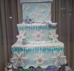 672x900px Lady M Wedding Cake Picture in Cake Decor