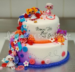 736x645px Lalaloopsy Cake Picture in Cake Decor