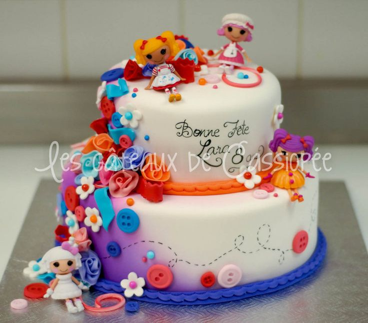 Lalaloopsy Cake Picture in Cake Decor