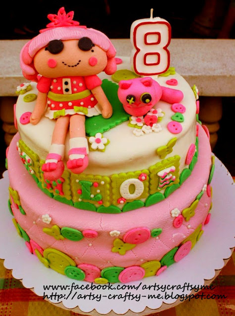 Lalaloopsy Cakes Picture in Cake Decor