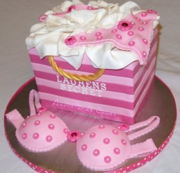 600x658px Lingerie Shower Cake Picture in Wedding Cake