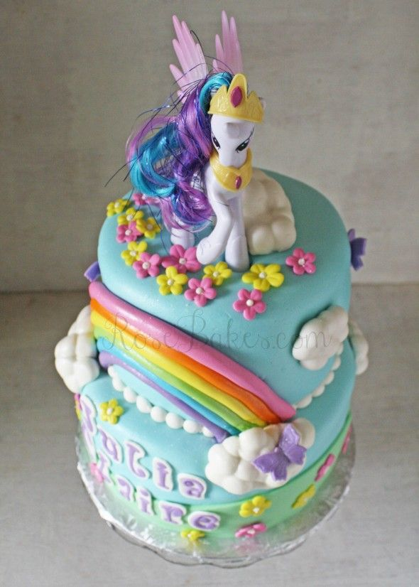 Little Pony Cake Decorating Picture in Cake Decor