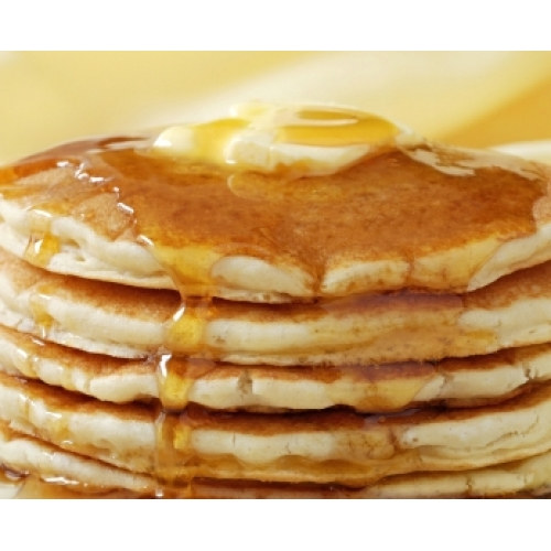 Low Carb Pancake Mix Picture in pancakes