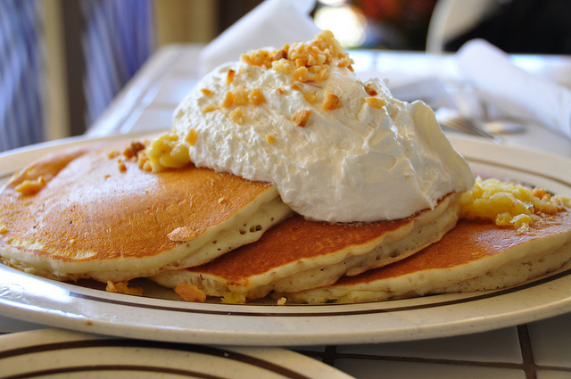 Macadamia Nut Pancakes Picture in pancakes