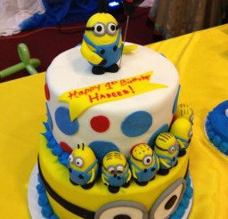 736x981px Minions Birthday Cake Picture in Birthday Cake