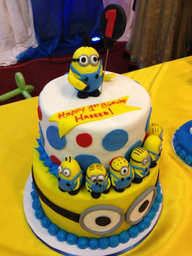 Minions Birthday Cake Picture in Birthday Cake