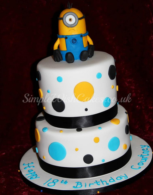 Minions Birthday Cakes Picture in Birthday Cake