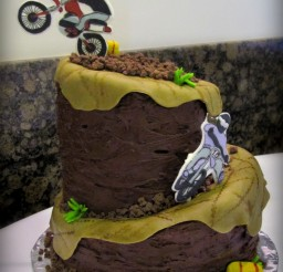 1200x1600px Motorcross Cakes Picture in Cake Decor