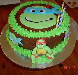 640x480px Ninja Turtles Cakes Picture in Cake Decor