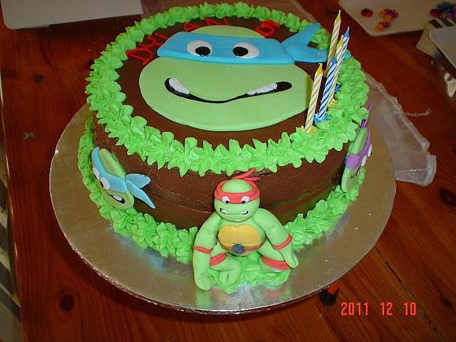 Ninja Turtles Cakes Picture in Cake Decor