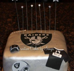 529x700px Oakland Raiders Birthday Cake Picture in Birthday Cake
