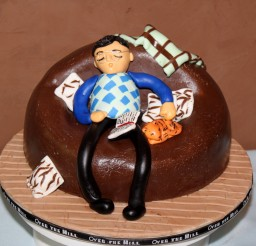 1600x1391px Old Man Cake Topper Picture in Cake Decor