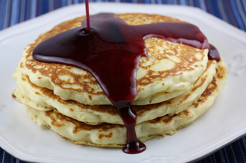 Pancake Mix Recipe From Scratch Picture in pancakes