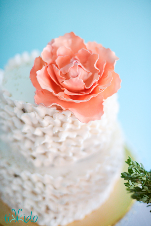 Peony Gumpaste Cutter Picture in Cake Decor