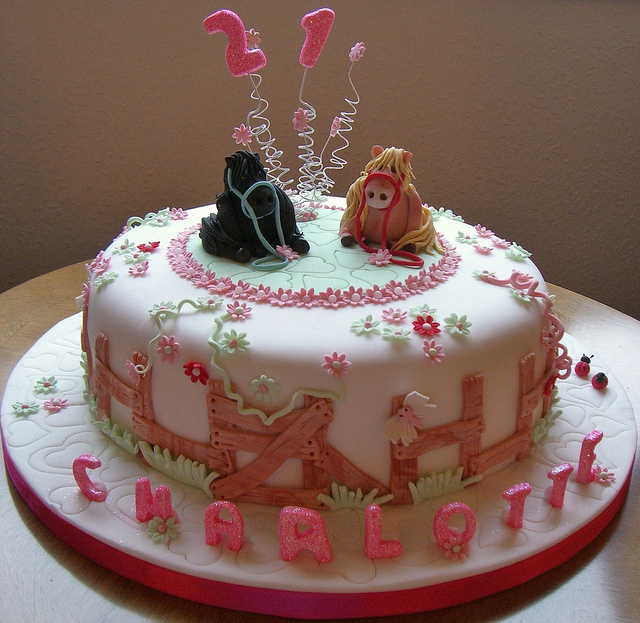 Pony Cakes Picture in Cake Decor
