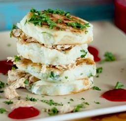 600x399px Potato Pancake Recipe Using Mashed Potatoes Picture in pancakes