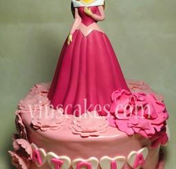 400x582px Princess Aurora Cakes Picture in Cake Decor