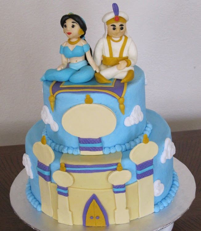 Princess Jasmine Cake Decorations Picture in Cake Decor
