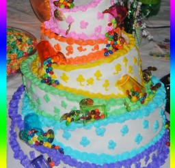 691x960px Rainbow Cake Decoration Picture in Cake Decor
