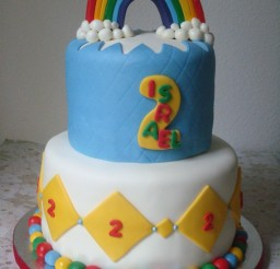570x760px Rainbow Cake Toppers Picture in Cake Decor