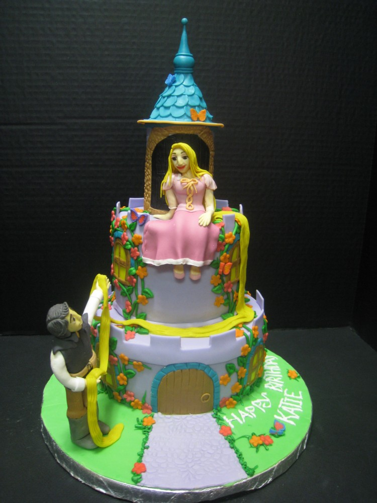 Rapunzel Cake Decorations Picture in Cake Decor