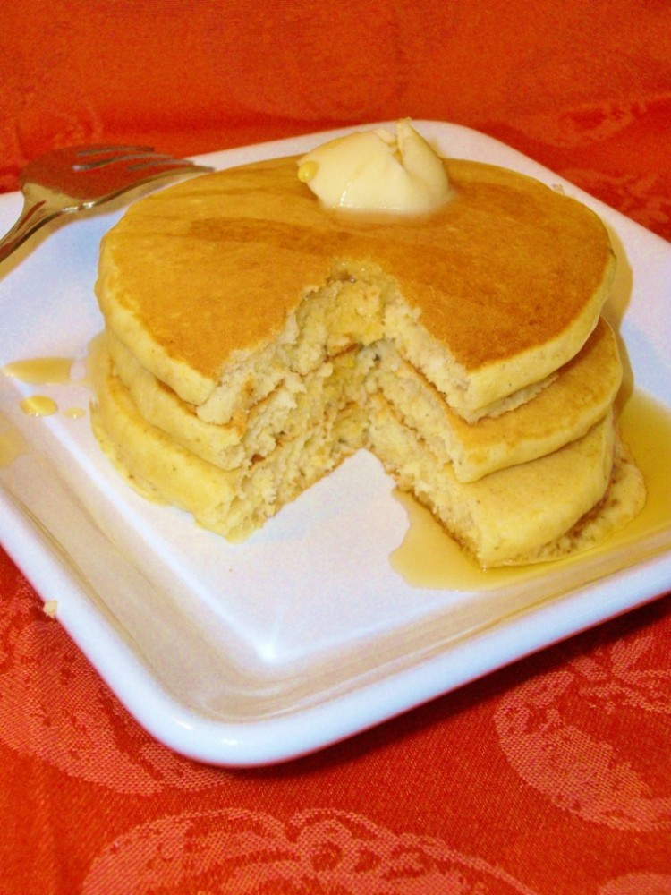 Recipe For Pumpkin Pancakes Using Pancake Mix Picture in pancakes