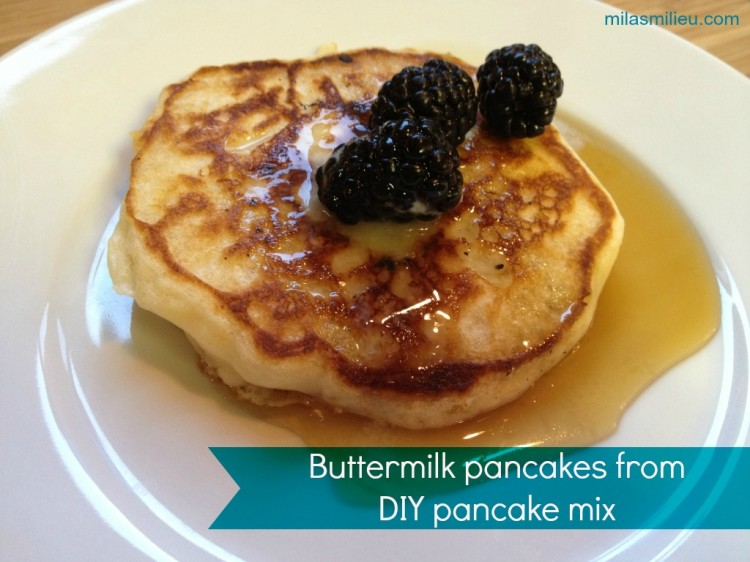Recipes Using Buttermilk Pancake Mix Picture in pancakes