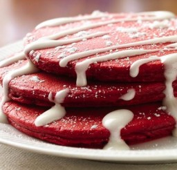615x460px Red Velvet Pancake Recipe Picture in pancakes
