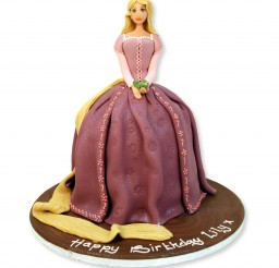 1000x1000px Repunzel Cake Picture in Cake Decor