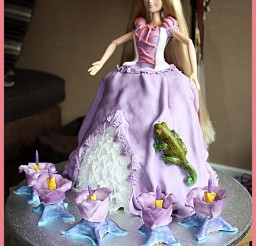 734x900px Repunzel Cakes Picture in Cake Decor
