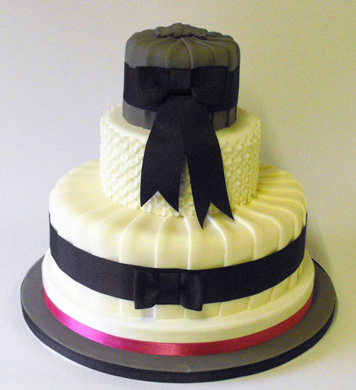 Ribbon For Wedding Cake Picture in Wedding Cake