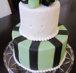 507x900px Satin Ice Black Fondant Picture in Cake Decor