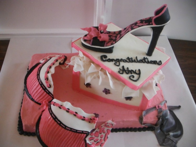 Shoe Cake Decorations Picture in Cake Decor