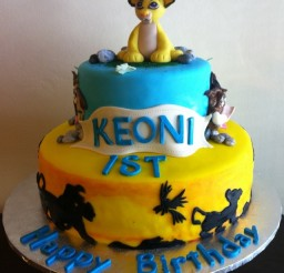 640x640px Simba Cake Picture in Birthday Cake