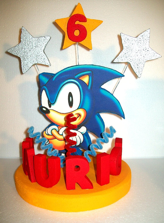 Sonic Cake Topper Cake Decor Cake Ideas By Prayface Net