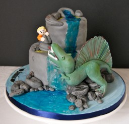 577x640px Spinosaurus Cake Picture in Cake Decor