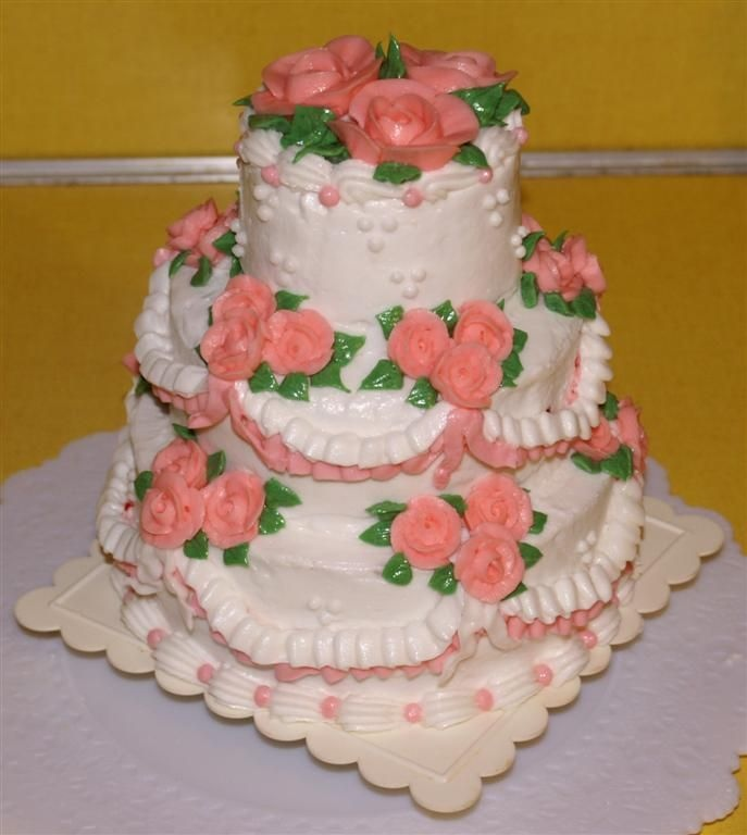 Tall Cake Pans Picture in Cake Decor