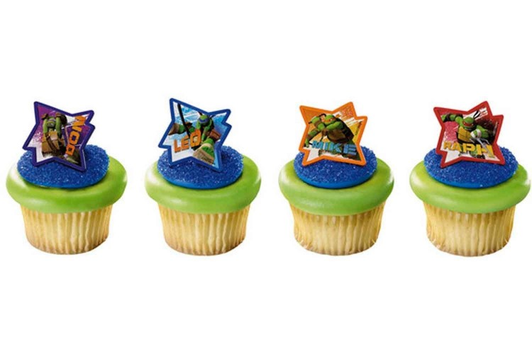 Teenage Mutant Ninja Cupcakes Picture in Cupcakes
