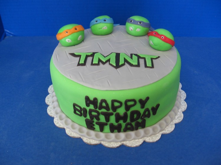 Teenage Mutant Ninja Turtle Cakes Picture in Birthday Cake